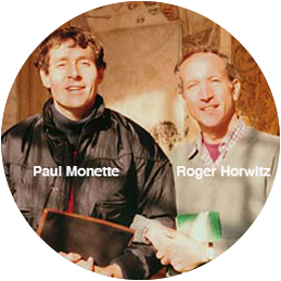 Roger and Paul Monette
